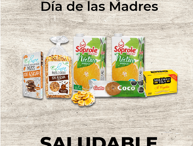 PACK SALUDABLE PROMOCION GRANEL (UNID)
