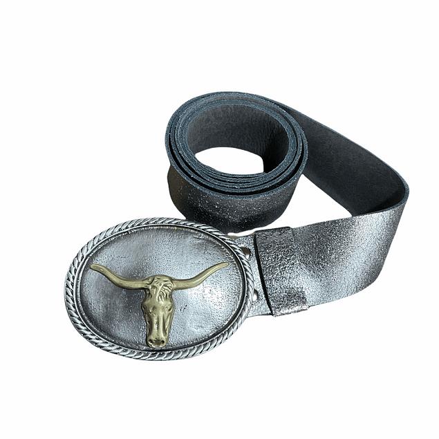 Cinturón hebilla toro