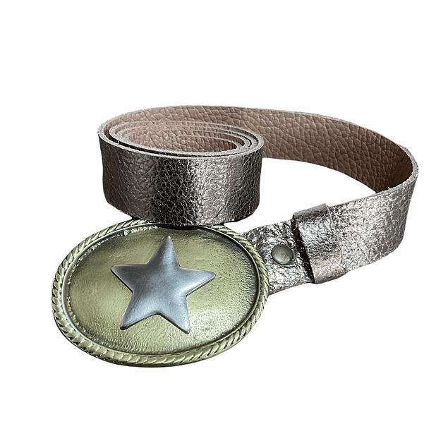Cinturón hebilla estrella