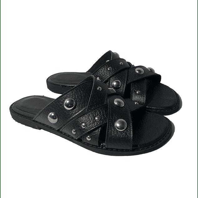 375 Negro Tachas