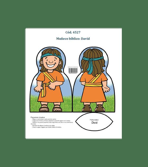 Muñeco bíblico: David