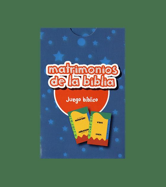 JUEGO: Matrimonios de la Biblia - 2da Ed.