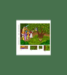 Hoja libro paño: Zaqueo - 2da edicion