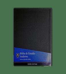 Biblia de Estudio Andrews - Cuero legitimo