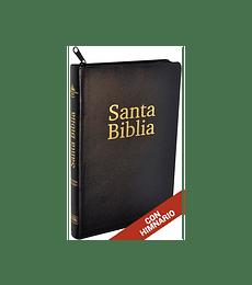 Biblia ACES RVR067ecZH - PF - Negro (con cierre)