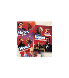 Héroes verdaderos Col. 3 tomos