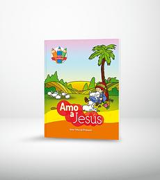 Serie colorear: Amo a Jesus (3ra. edic.)