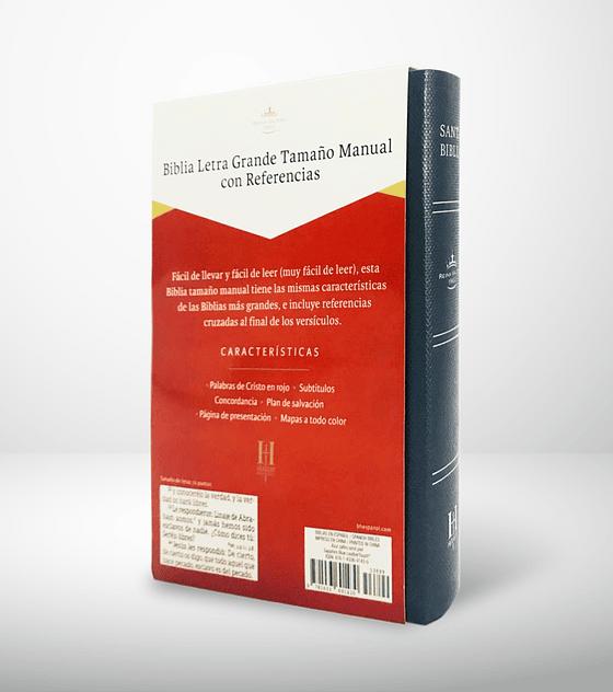 Biblia letra grande tamaño Manual con Referencias