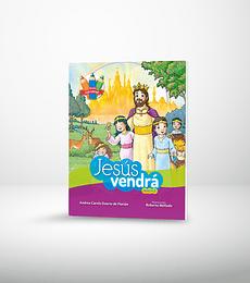 Serie colorear: Jesus Vendra