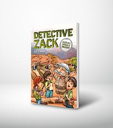 Detective Zack. Peligro en el campamento de dinosaurios