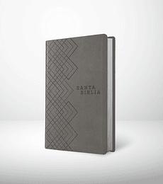 Santa Biblia NTV, Edición ágape i/piel gris