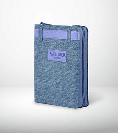 Biblia RVR60 Letra grande portatil JEAN cierre