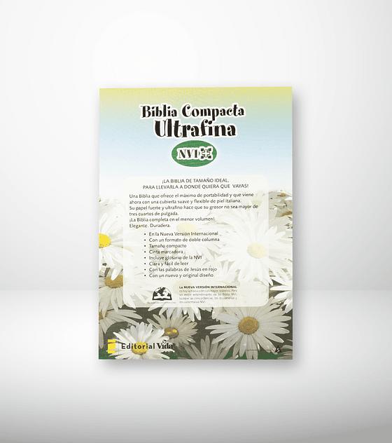Biblia NVI Compacta ultrafina Hibisco