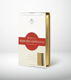 Biblia edicion especial c/ ref oro