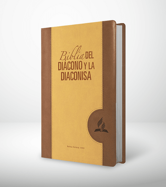 Biblia del diácono y diaconisa. Marrón