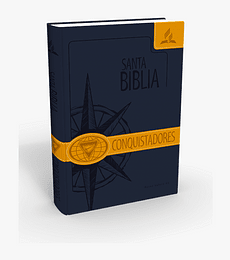 Biblia conquistadores Safeliz azul/ amarillo