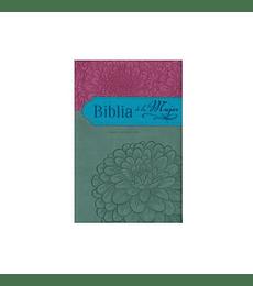 Biblia de la mujer - RV 95 - gris/rosa (Safeliz)