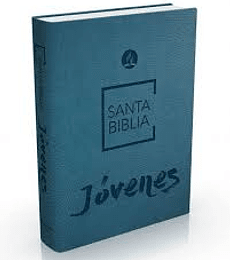 Biblia de jóvenes celeste