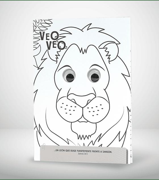 Libro con ojos: Veo veo: animales biblicos