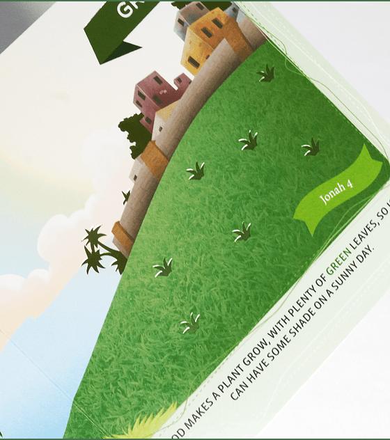 Libro cartón: Serie bilingue biblica - Colores