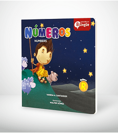 Libro cartón: Serie bilingue biblica - Números