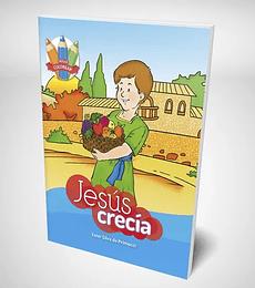 serie colorear: Jesus Crecia