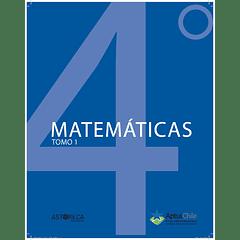 Set de Matemáticas 4° básico (Edición tradicional 2020 - Tomo 1, 2 y 3)