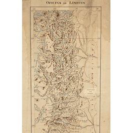 Mapa Oficina de Límites de Chile, ca. 1905
