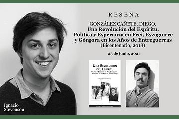 Reseña: Diego González