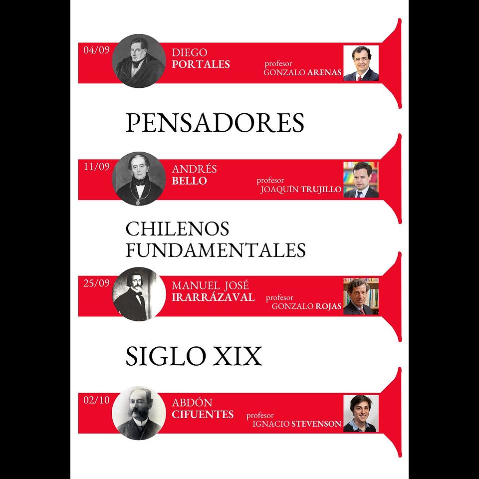 Pensadores chilenos fundamentales. Siglo XIX