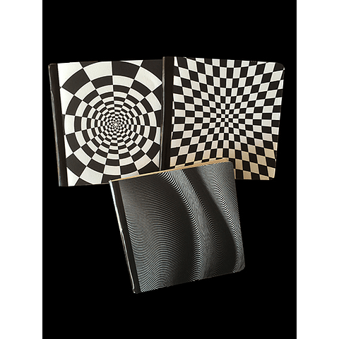 Libretas de notas rectangulares