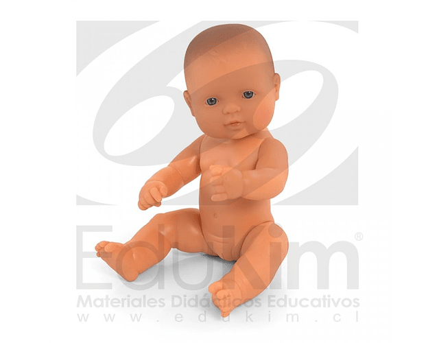 Muñeca europea 32 cm. Niña