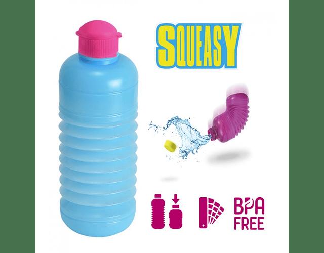 Botella Squeasy azul claro
