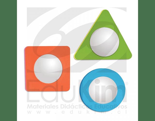 Espejos mágicos 3 formas geométricas