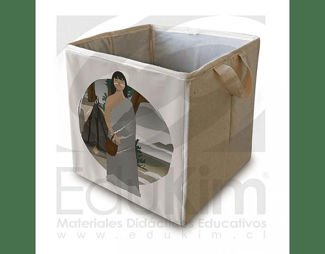 Caja plegable diseño Onas Mujer 26 cm