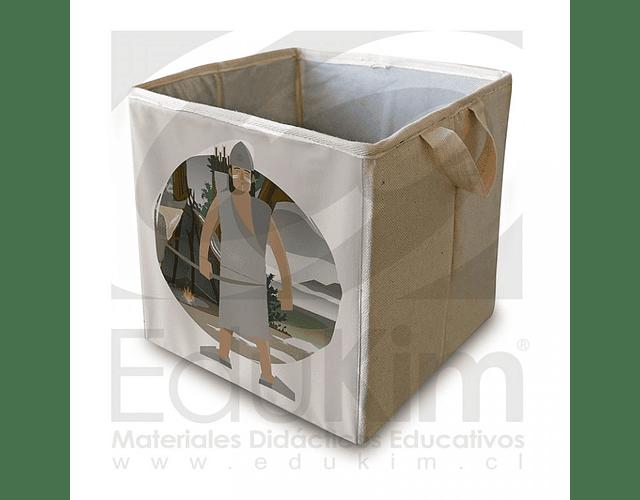 Caja plegable diseño Onas Hombre 26 cm
