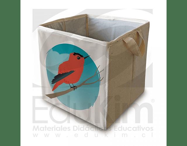 Caja plegable diseño Picaflor de Juan Fernández 30 cm