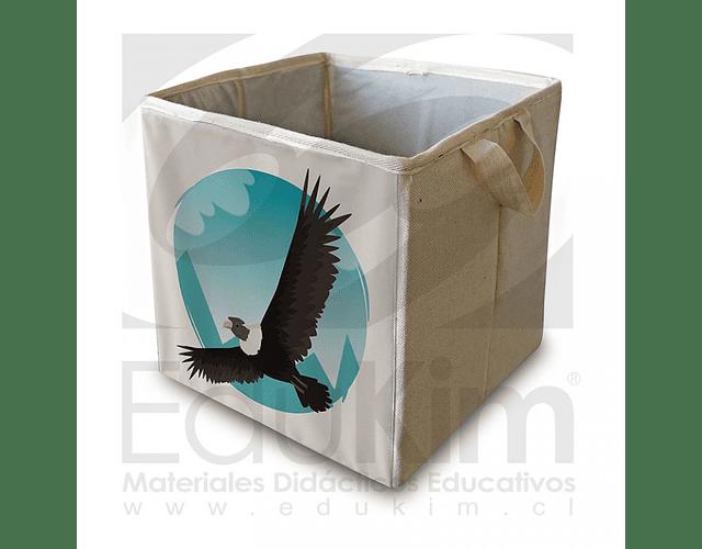 Caja plegable diseño condor 30 cm