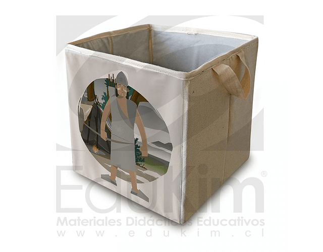 Caja plegable diseño Onas Hombre 30 cm