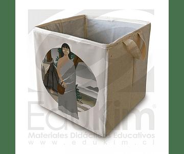 Caja plegable diseño Onas Mujer 30 cm