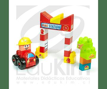 Super blocks Estación de Bomberos