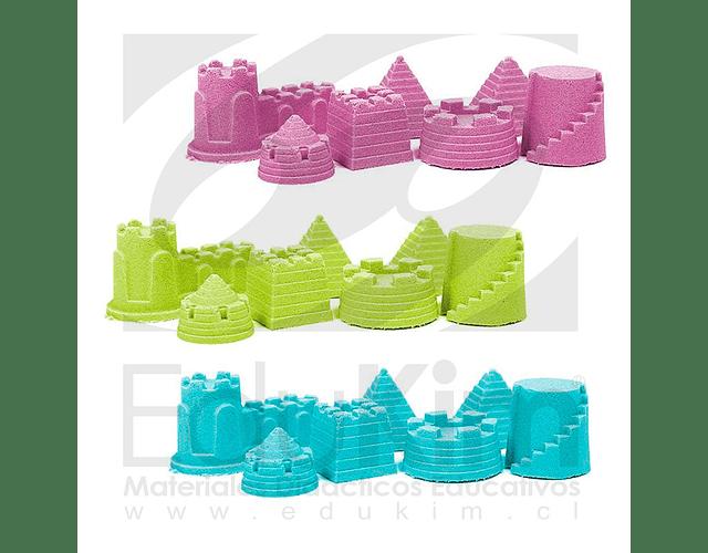 Arena Mágica bolsa de 1000 gr. 8 colores a elección