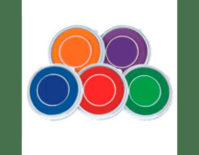 Tintas de colores al agua EDUKIM