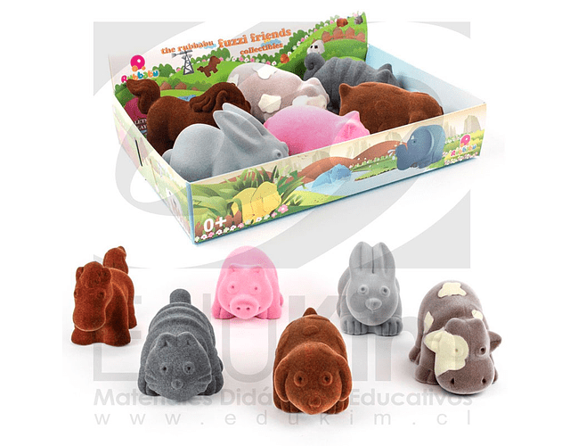 Set de Animales de la Granja (6PCS)