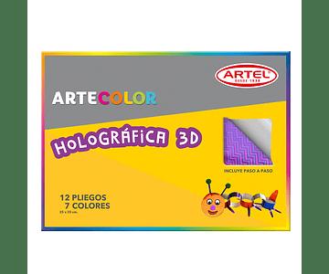 ARTECOLOR PAPEL HOLOGRAFICO