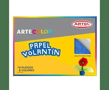 ARTECOLOR PAPEL VOLANTIN 10 PL 37X50