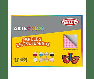 ARTECOLOR PAPELES ENTRETENIDOS
