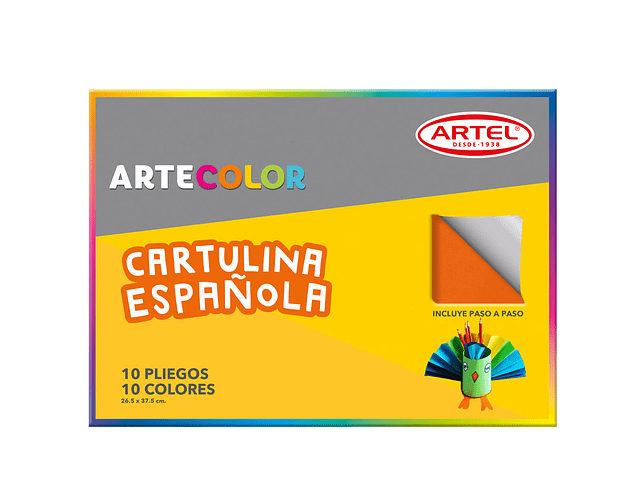 ARTECOLOR CARTULINA ESPAÑOLA 10H