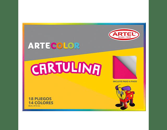 ARTECOLOR CARTULINAS 18H 14 COL