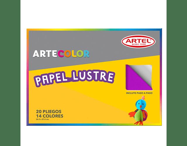 ARTECOLOR PAPEL LUSTRE 20 PLIEGOS